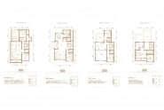 中正天和园户型 联排别墅-5室4厅3卫-333.5㎡