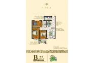 B区B户型-3室3厅1卫-111.5㎡