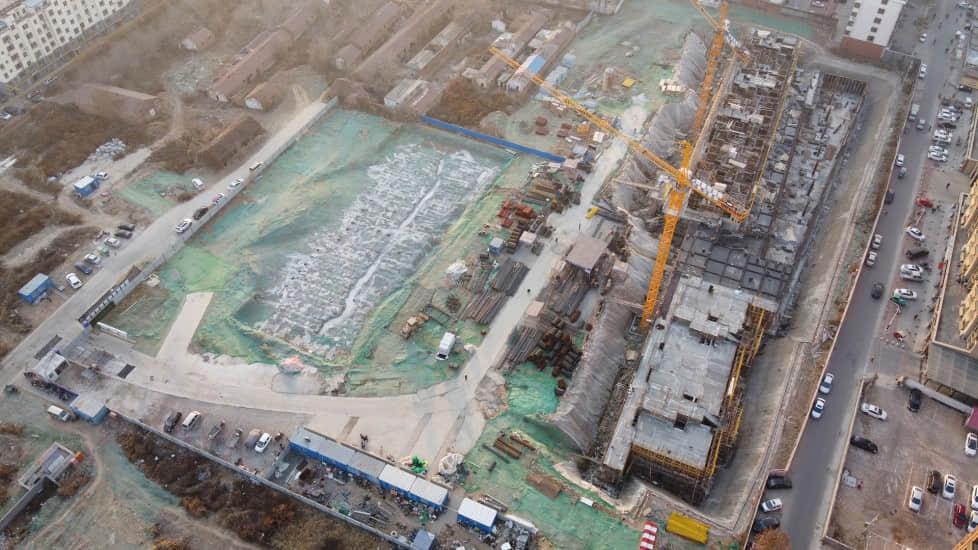 双企龙城国际2019-12-13工程进度