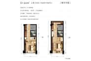 峯华万里40.68两室两厅两卫4.85米层高