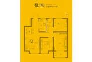 禹城东海城三室两厅一卫102平户型