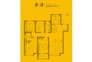 禹城东海城四室两厅两卫141平户型
