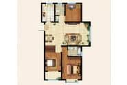 振华领秀城D户型3室2厅2卫130平