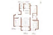银丰公馆户型3室2厅2卫122平