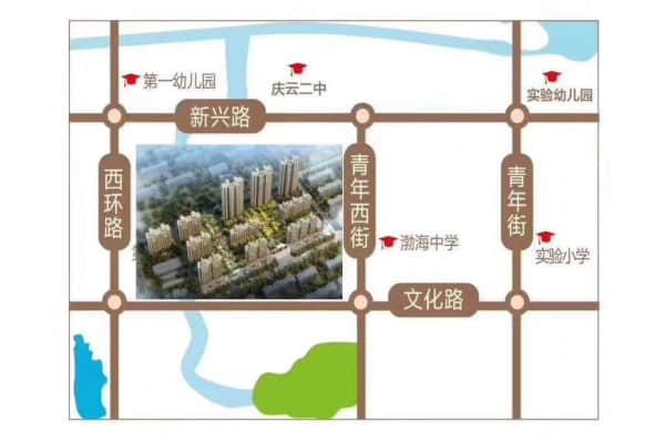 锦鸿学府区位图