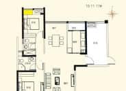 10-11-17A-3室2厅2卫-125.0㎡