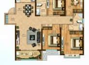 140M²-4室2厅2卫-140.0㎡