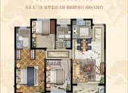 高层户型-3室2厅2卫-110.0㎡