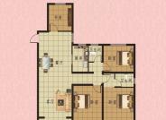 4室2厅2卫127m²