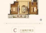 三室两厅二卫C户型