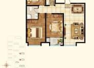 2号楼3号楼B3+户型-3室2厅1卫-114.0㎡