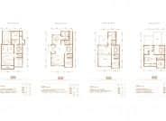 联排别墅-5室4厅3卫-333.5㎡