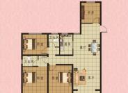 4室2厅2卫130m²