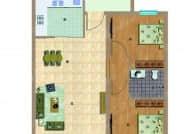 D-2室2厅2卫-94.2㎡