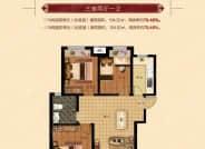G户型-3室2厅1卫-104.0㎡