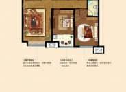 F户型-3室2厅2卫-114.0㎡
