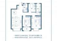 G户型 三室两厅一卫