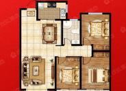 B3户型-3室2厅1卫-122.0㎡