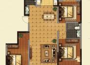 三室两厅两卫户型-3室2厅2卫-139.0㎡