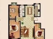 A户型 3室2厅1卫
