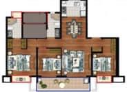 四室两厅两卫125