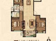 E户型 3室2厅2卫 134平