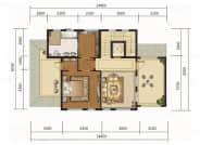 290㎡户型, 独栋别墅, 建筑面积约290.00平米