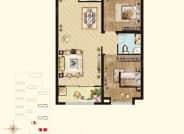 A1户型-4号楼5号楼-2室2厅1卫-94.0㎡