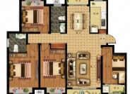 6#楼D户型-3室2厅2卫-144.3㎡