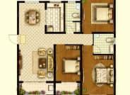 A5户型-3室2厅2卫-125.0㎡