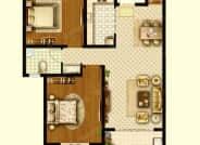 A2户型-2室2厅1卫-96.0㎡