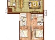 130㎡户型-3室2厅2卫-130.0㎡