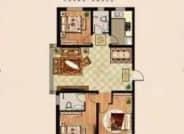 E户型 3室2厅2卫