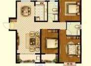 A1户型-3室2厅2卫-128.0㎡
