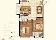 2号楼3号楼B2+户型-3室2厅1卫-110.0㎡