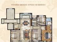 洋房户型-4室2厅2卫-143.0㎡
