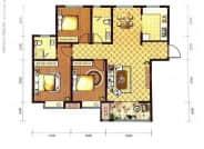 D1-3室2厅2卫-128.0㎡