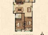 C户型 3室2厅2卫 127平