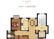 B1户型-3室2厅1卫-110.0㎡