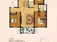建筑面积约137㎡  三室两厅两卫
