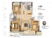 C3户型-3室2厅2卫