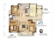 C1户型-3室2厅2卫