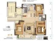 C2户型-3室2厅2卫