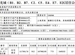 大业锦绣阳光城(B1、B2、B7、C2、┈