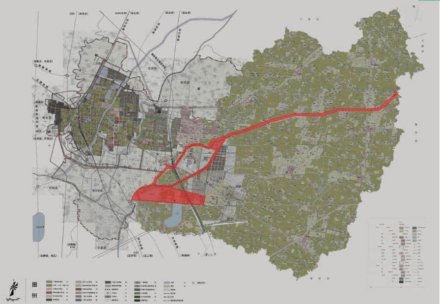 水韵德风生态综合体项目鬲津湖城市休闲绿地