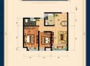 两室两厅一卫90平