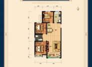 三室两厅一卫128平