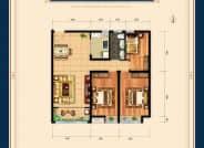 三室两厅一卫125平