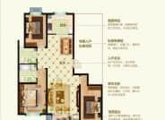 D3户型三室两厅两卫136.05平