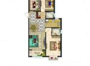 阳光尚品B2-4三室两厅两卫123.24
